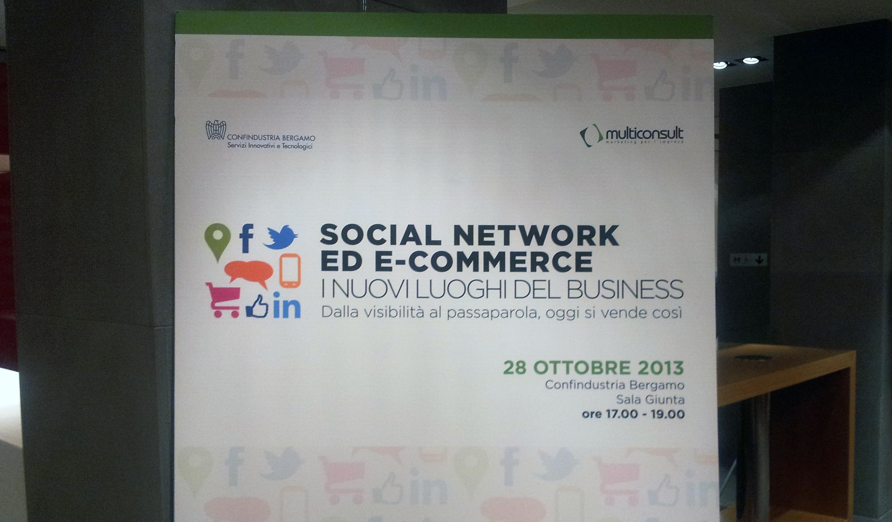 Evento: Social Network ed eCommerce – Confindustria Bergamo